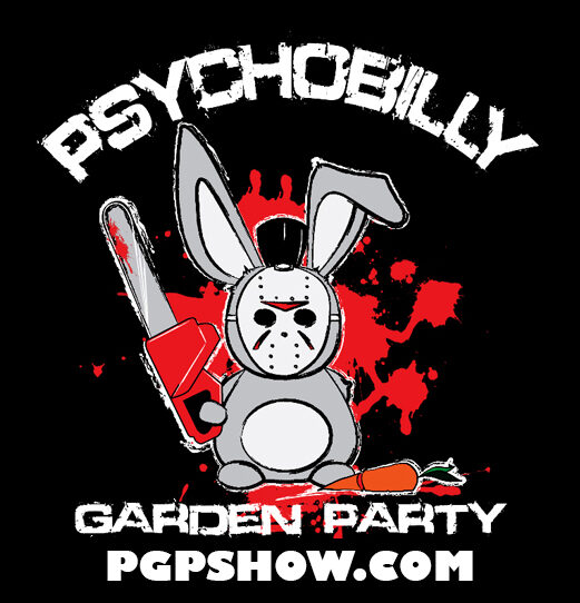 Logo for Psychobilly Garden Party